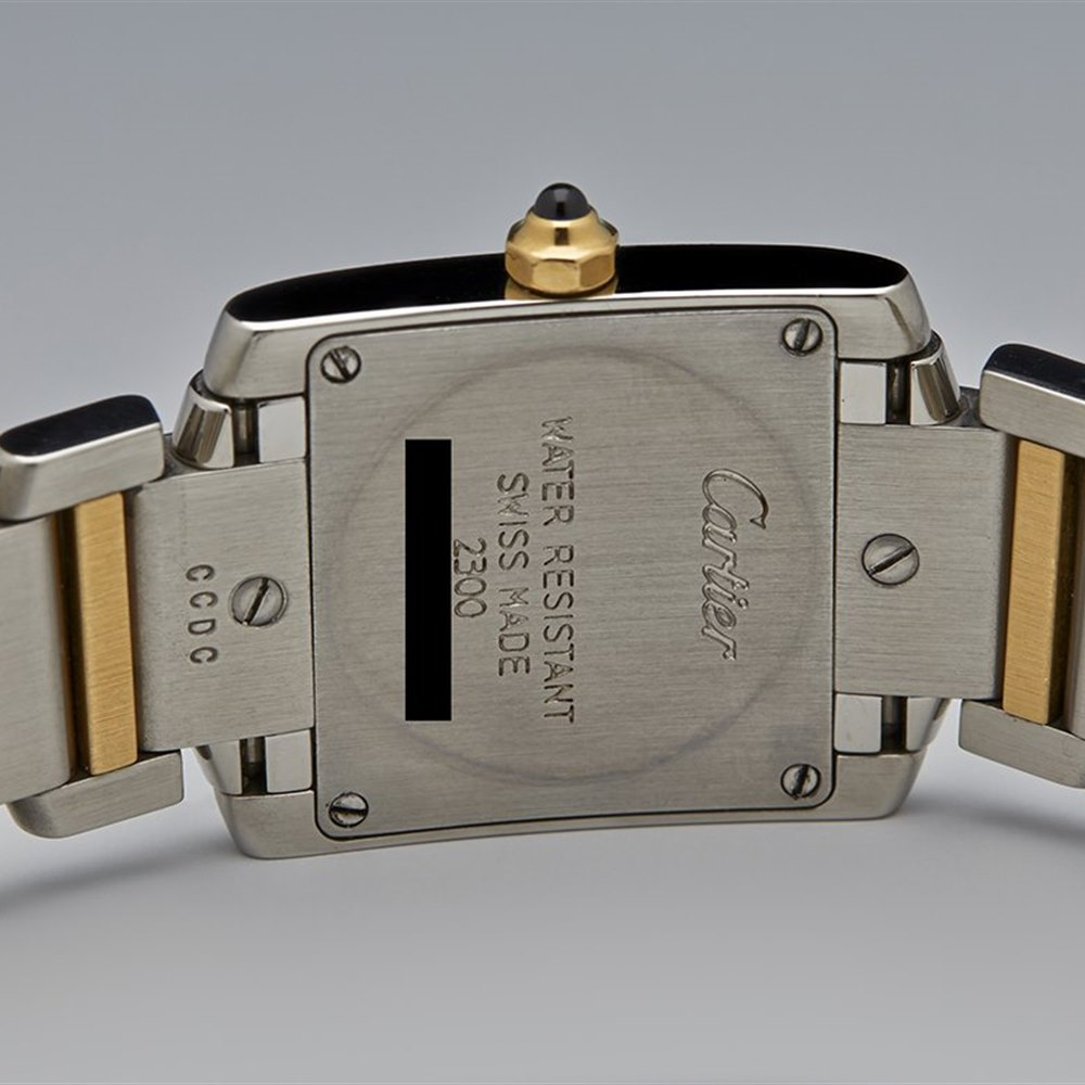 Cartier Tank Francaise Stainless Steel/18K Yellow Gold W51007Q4
