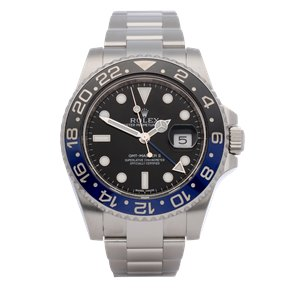Rolex GMT-Master II Batman Stainless Steel - 116710BLNR