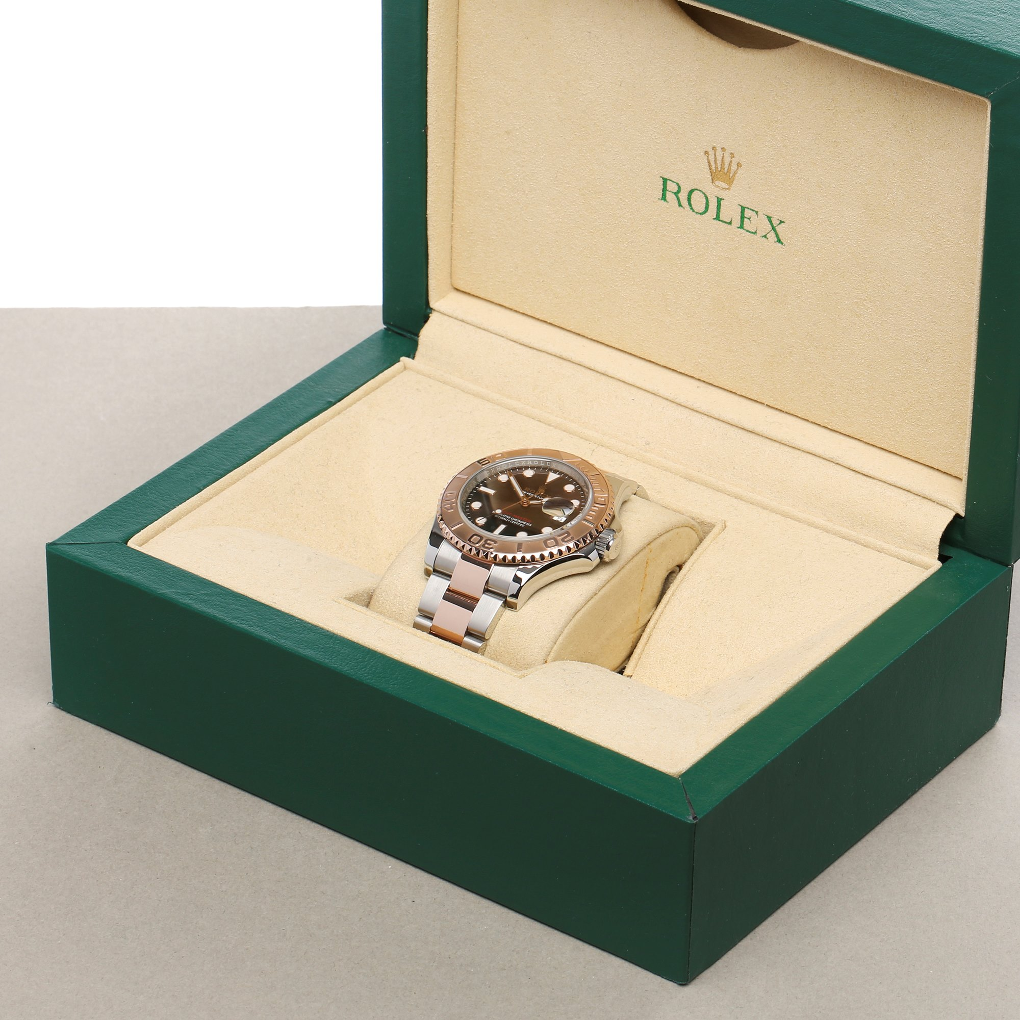 Rolex Yacht-Master 18K Rose Gold & Stainless Steel 116621