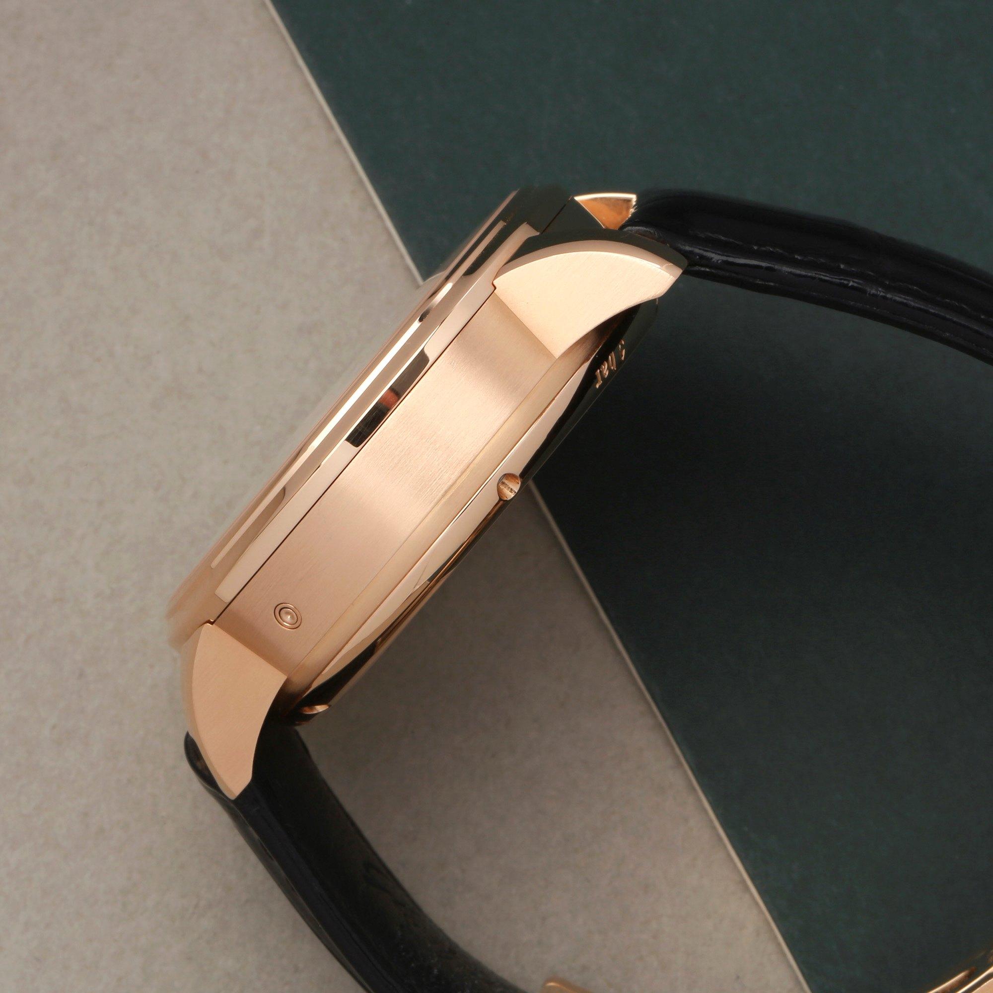 Glashutte Senator Chronograph 18K Rose Gold W13701010530