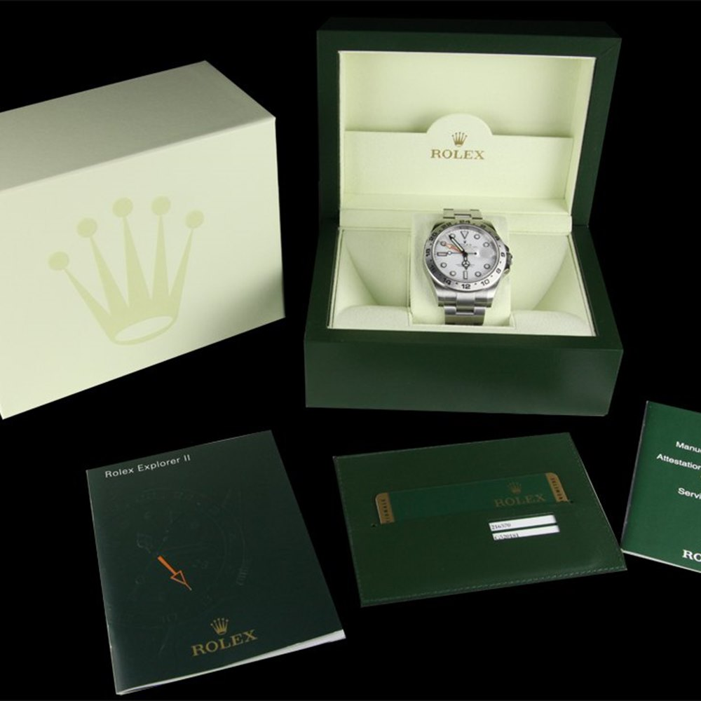 Rolex Explorer II Stainless Steel 216570