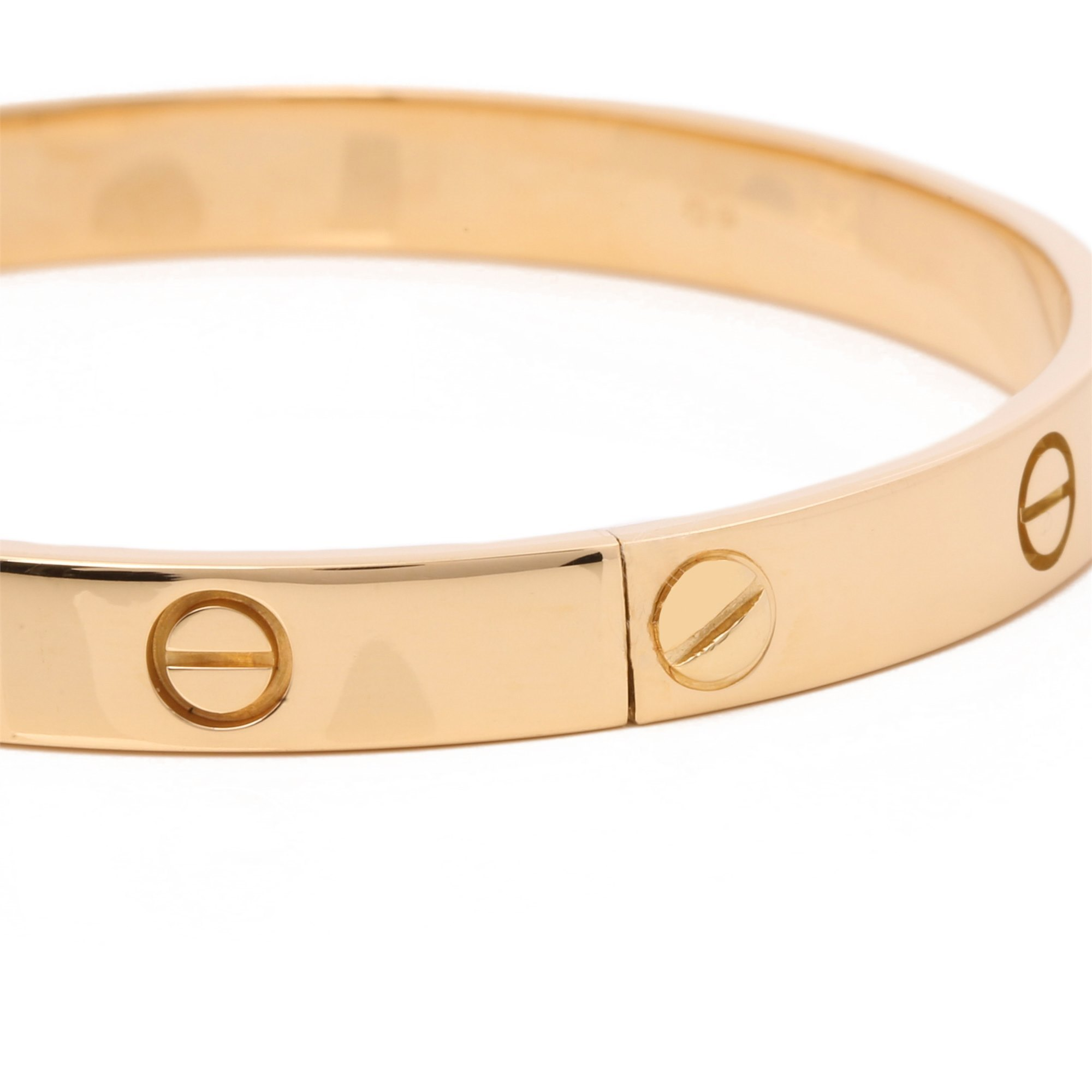 Cartier 18ct Yellow Gold Love Bangle