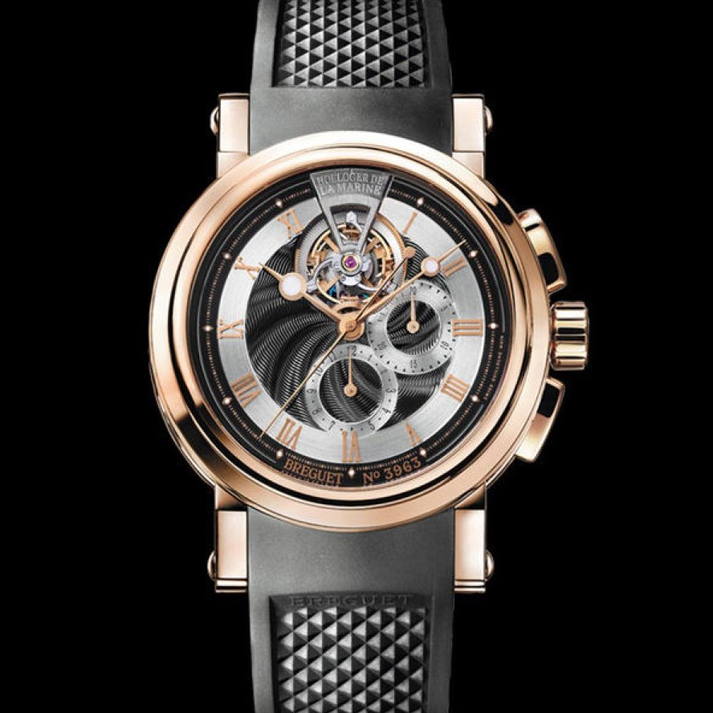 Breguet Marine Tourbillon 18k Rose Gold 5837BR/92/5ZU