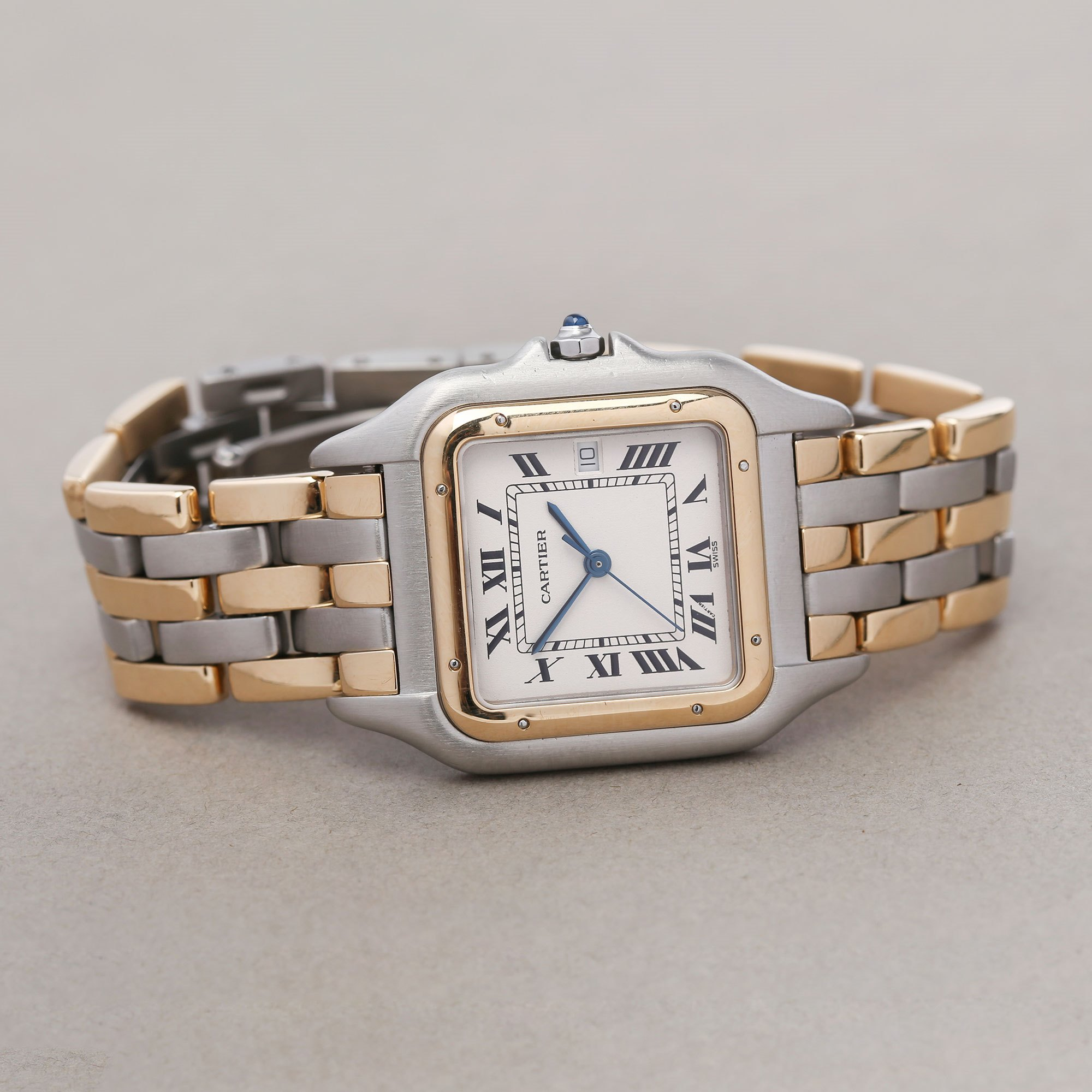 Cartier Panthère 3 Row 18K Yellow Gold & Stainless Steel 187957