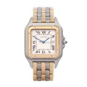 Cartier Panthère 3 Row 18K Yellow Gold & Stainless Steel - 187957