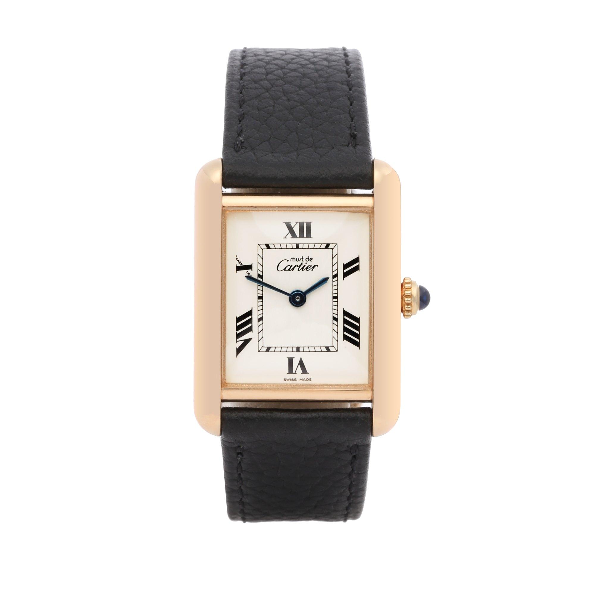 Cartier Must de Cartier 18K Gold Plated 2415