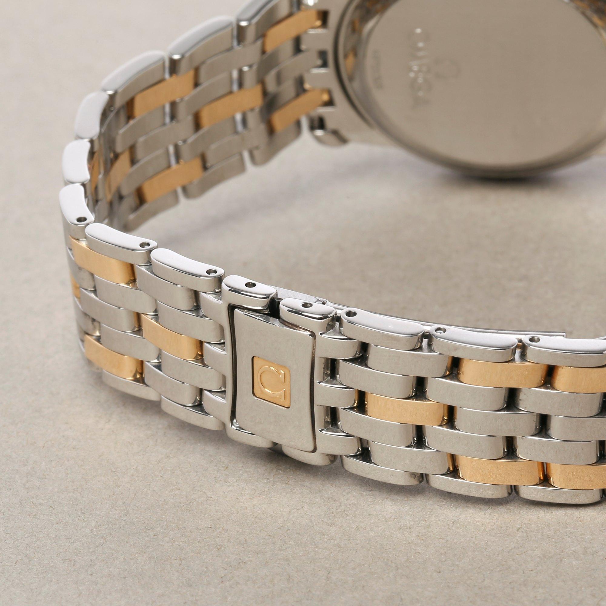Omega De Ville 18K Yellow Gold & Stainless Steel 4300.31
