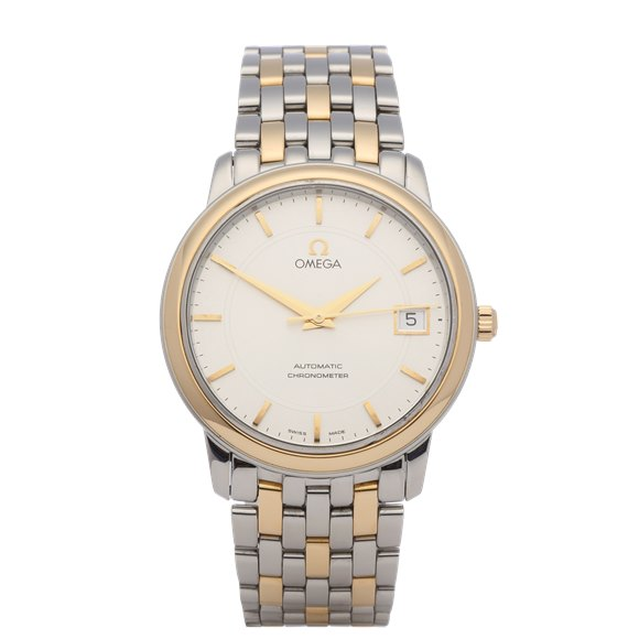 Omega De Ville 18K Yellow Gold & Stainless Steel - 4300.31