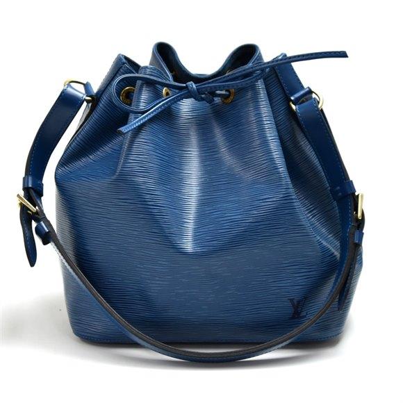 Louis Vuitton Blue Epi Leather Vintage Petit Noé