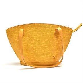 Louis Vuitton Yellow Epi Leather Vintage Saint Jacques PM