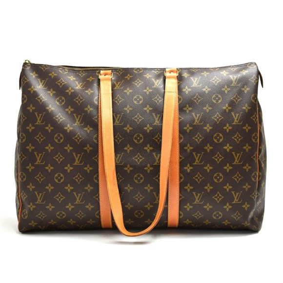 Louis Vuitton Brown Monogram Coated Canvas Vintage Flannery 50