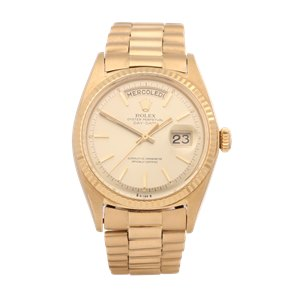"Rolex Day-Date 36 ""wide Boy"" Dial 18K Yellow Gold - 1803"
