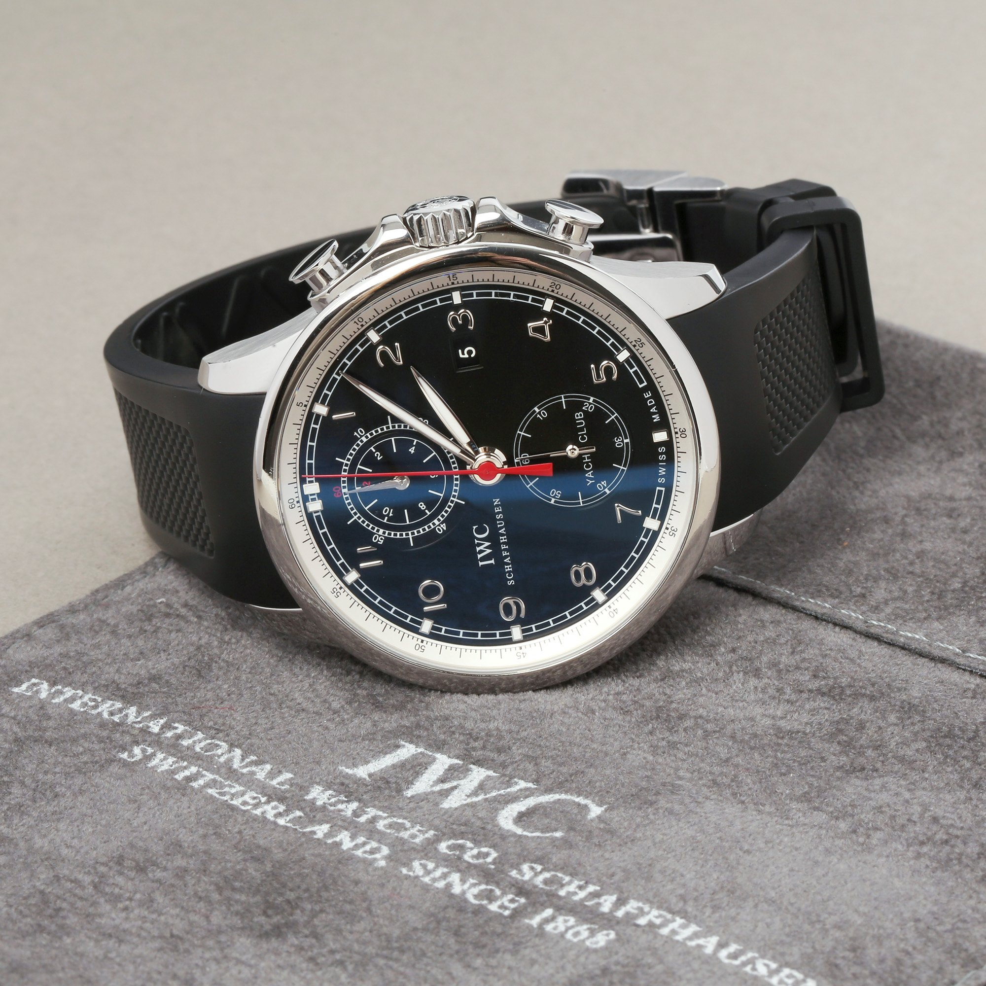 IWC Portuguese Yacht Club Chronograph Roestvrij Staal IW390210