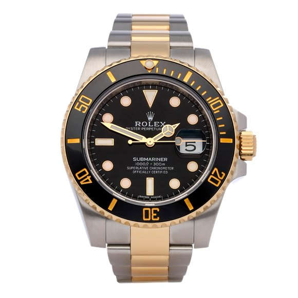 Rolex Submariner Date 18K Stainless Steel & Yellow Gold - 116613LN