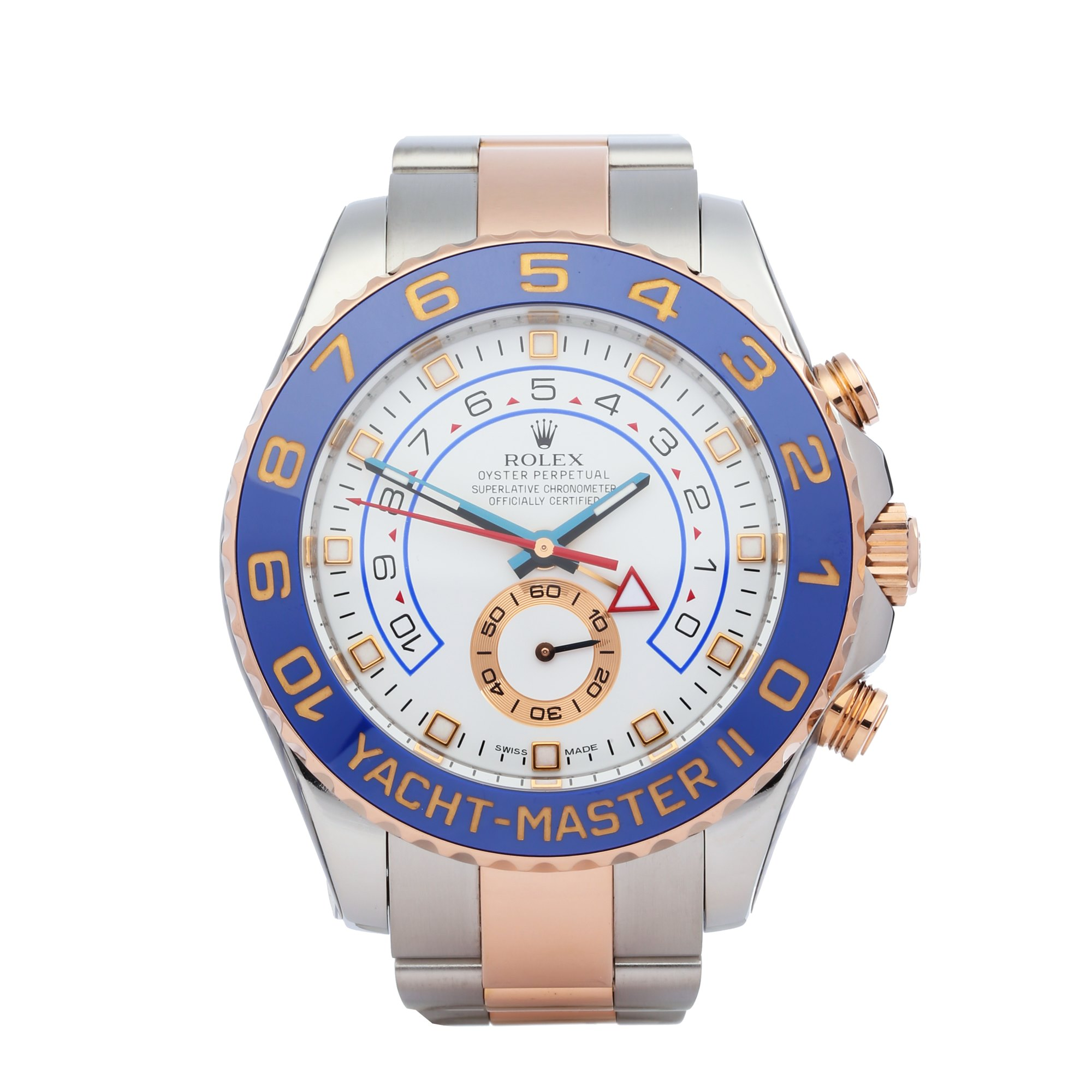 Rolex Yacht-Master II 18K Rose Gold & Stainless Steel 116681