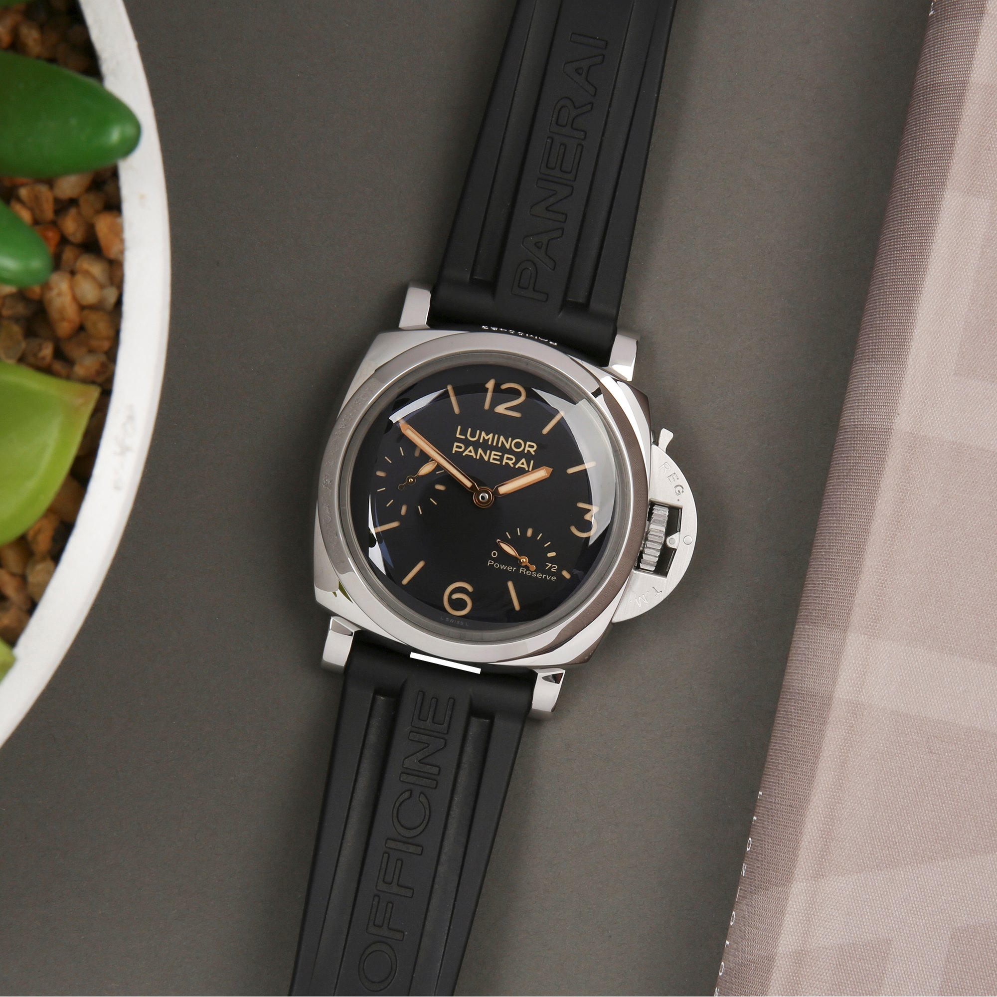 Panerai Luminor 1950 3 Day Power Reserve Stainless Steel PAM00423