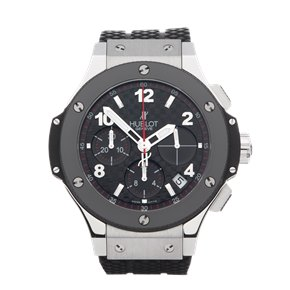 Hublot Big Bang Carbon Chronograph Stainless Steel - 341.SB.131