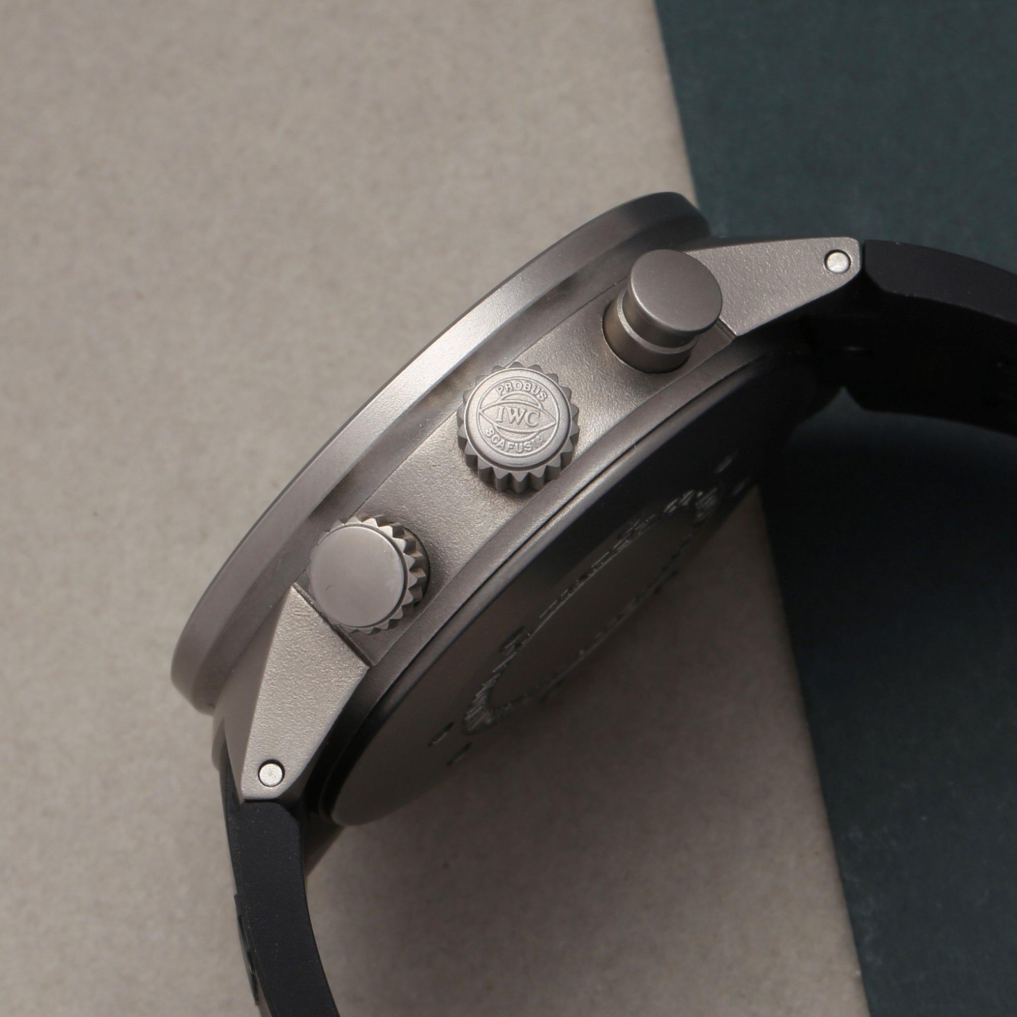 IWC Aquatimer Split Minute Chronograph Titanium IW372304