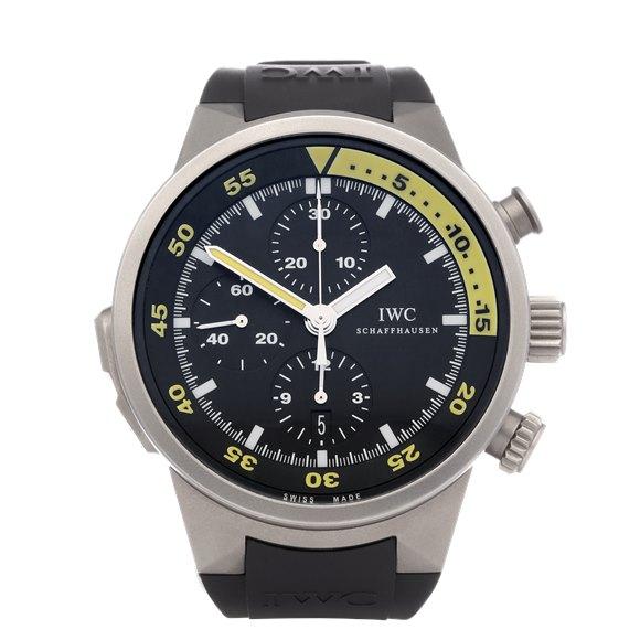 IWC Aquatimer Split Minute Chronograph Titanium - IW372304