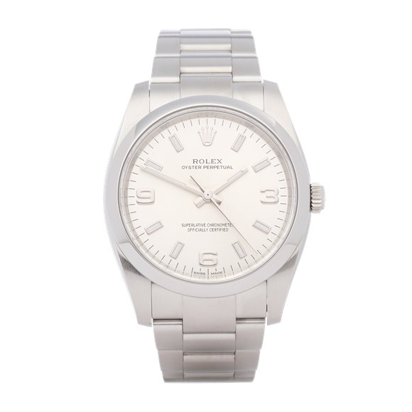 Rolex Oyster Perpetual 34 Stainless Steel - 114200