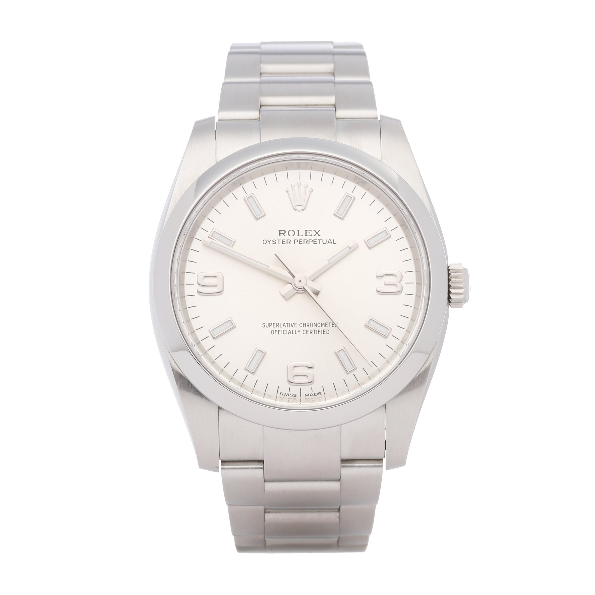 Rolex Oyster Perpetual 34 Stainless Steel 114200