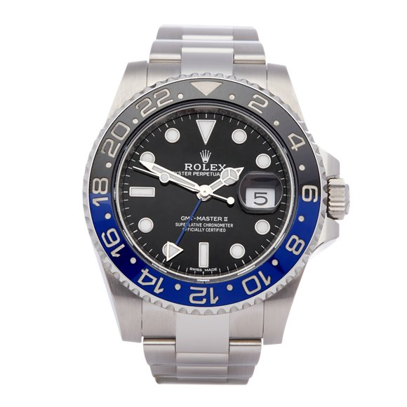Rolex GMT-Master Batman Stainless Steel - 116710BLNR