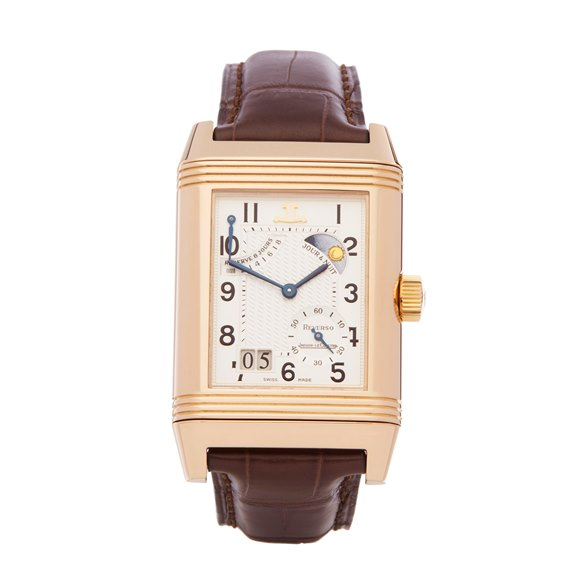 Jaeger-LeCoultre Reverso Septantieme Limited Edition 18K Rose Gold - Q3002420 or 240.9.12