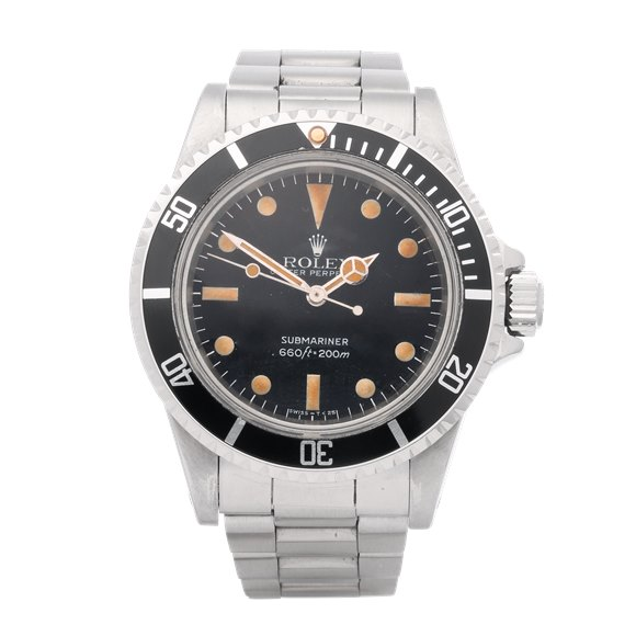 Rolex Submariner Non Date Matte Maxi Dial Stainless Steel - 5513