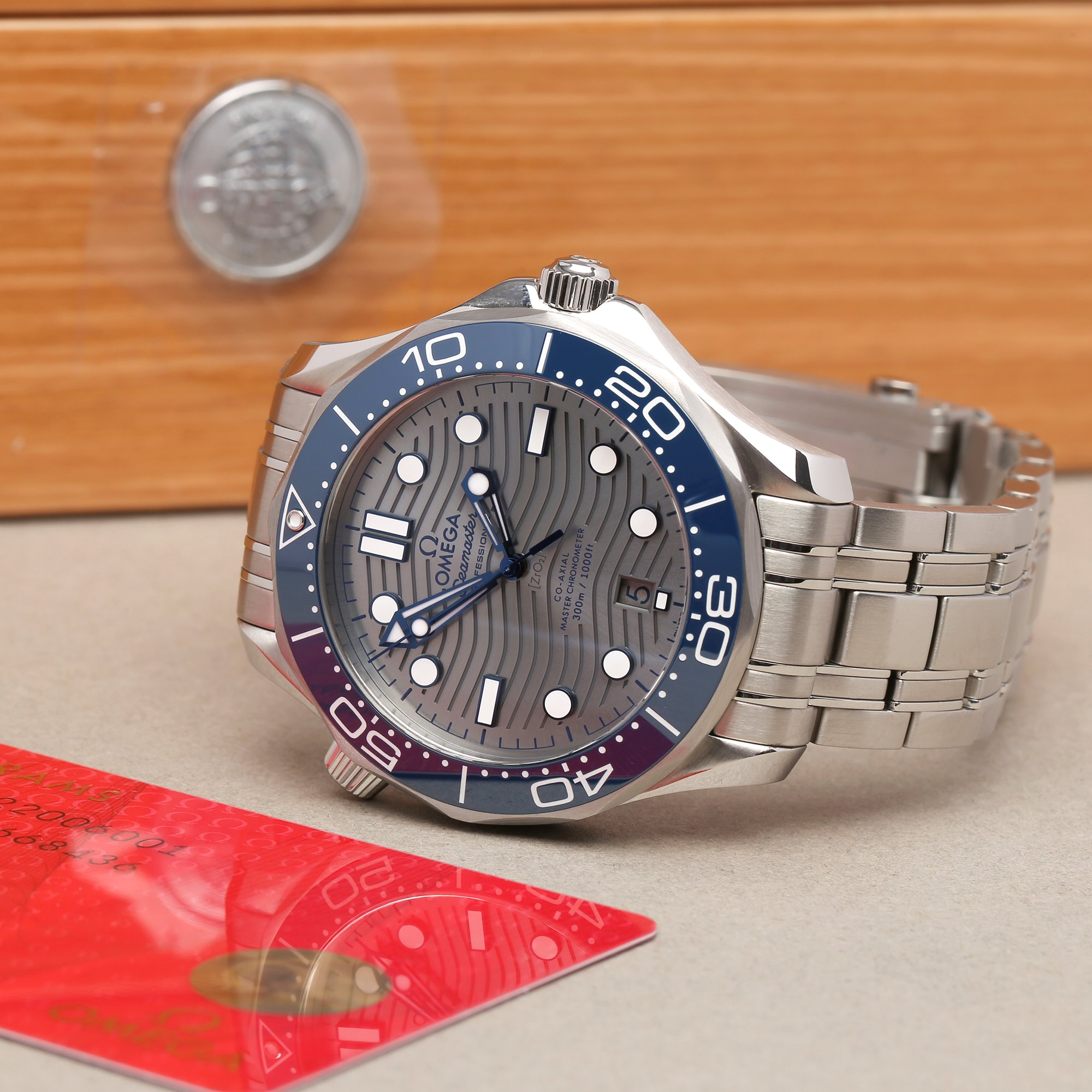 Omega Seamaster Roestvrij Staal 210.30.42.20.06.001