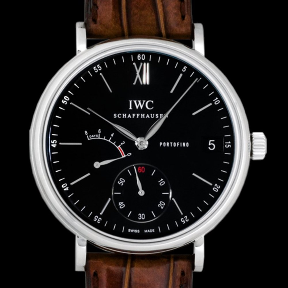 IWC Portofino 8 Day Hand Wound Stainless Steel IW510102