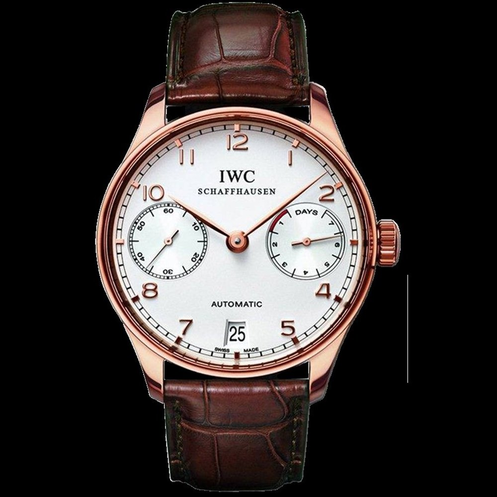 IWC Portuguese 7 Day Power Reserve 18k Rose Gold IW500113