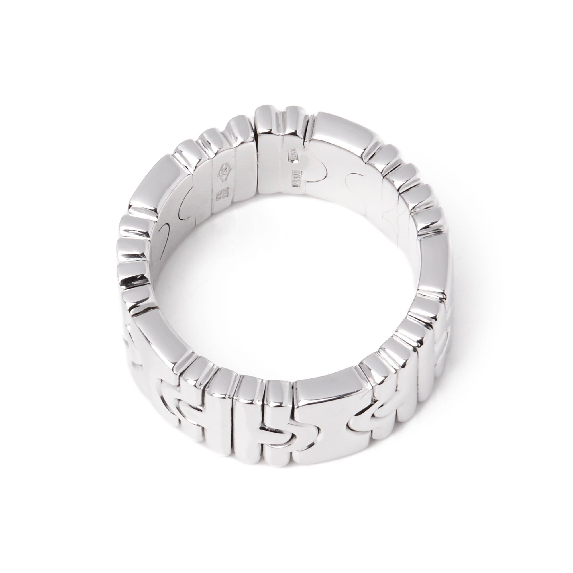 Bulgari 18ct White Gold Parentisi Ring