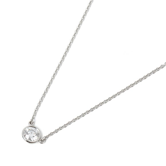 Tiffany & Co Diamonds by the Yard 0.35ct Pendant Necklace