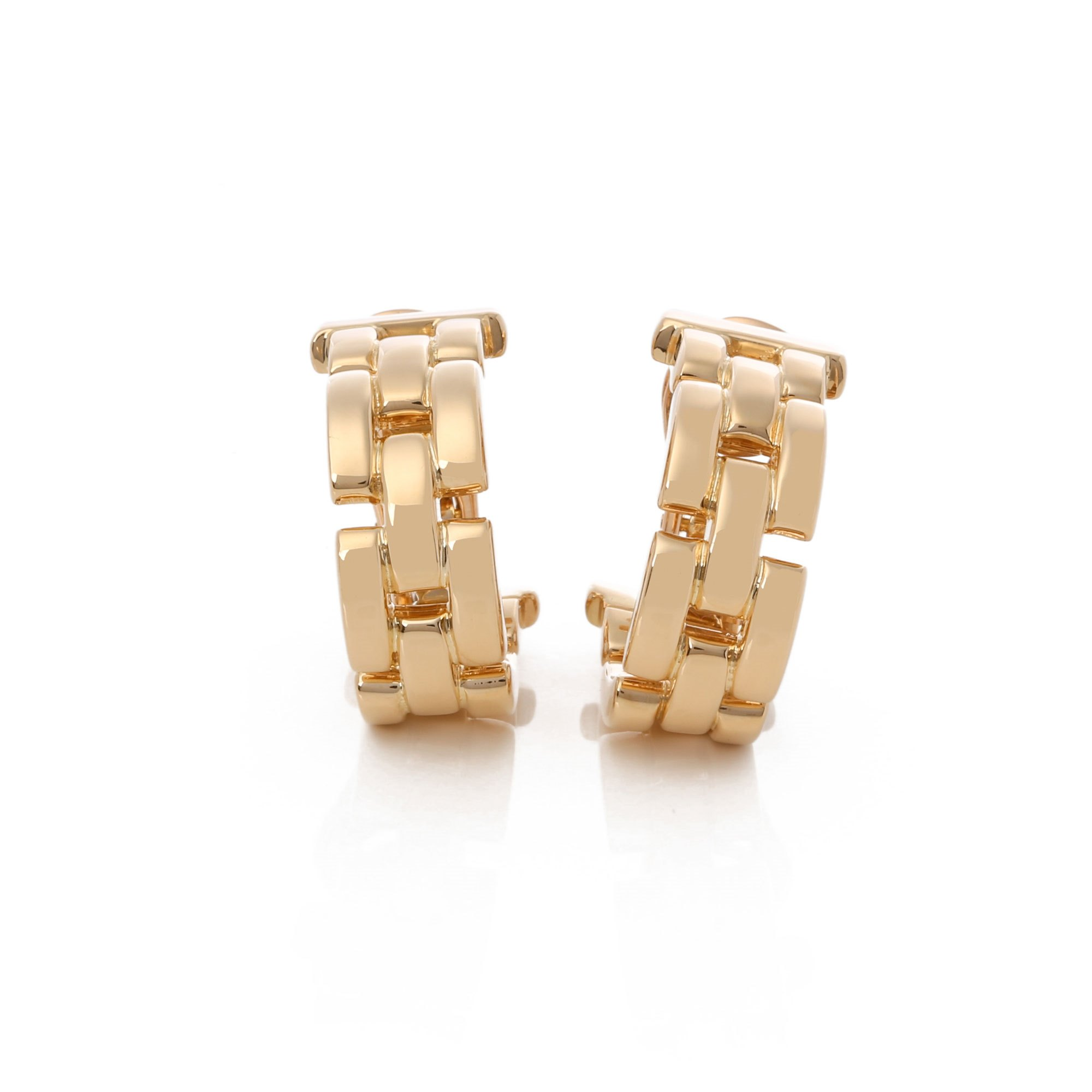 Cartier Maillon Panthere Earrings