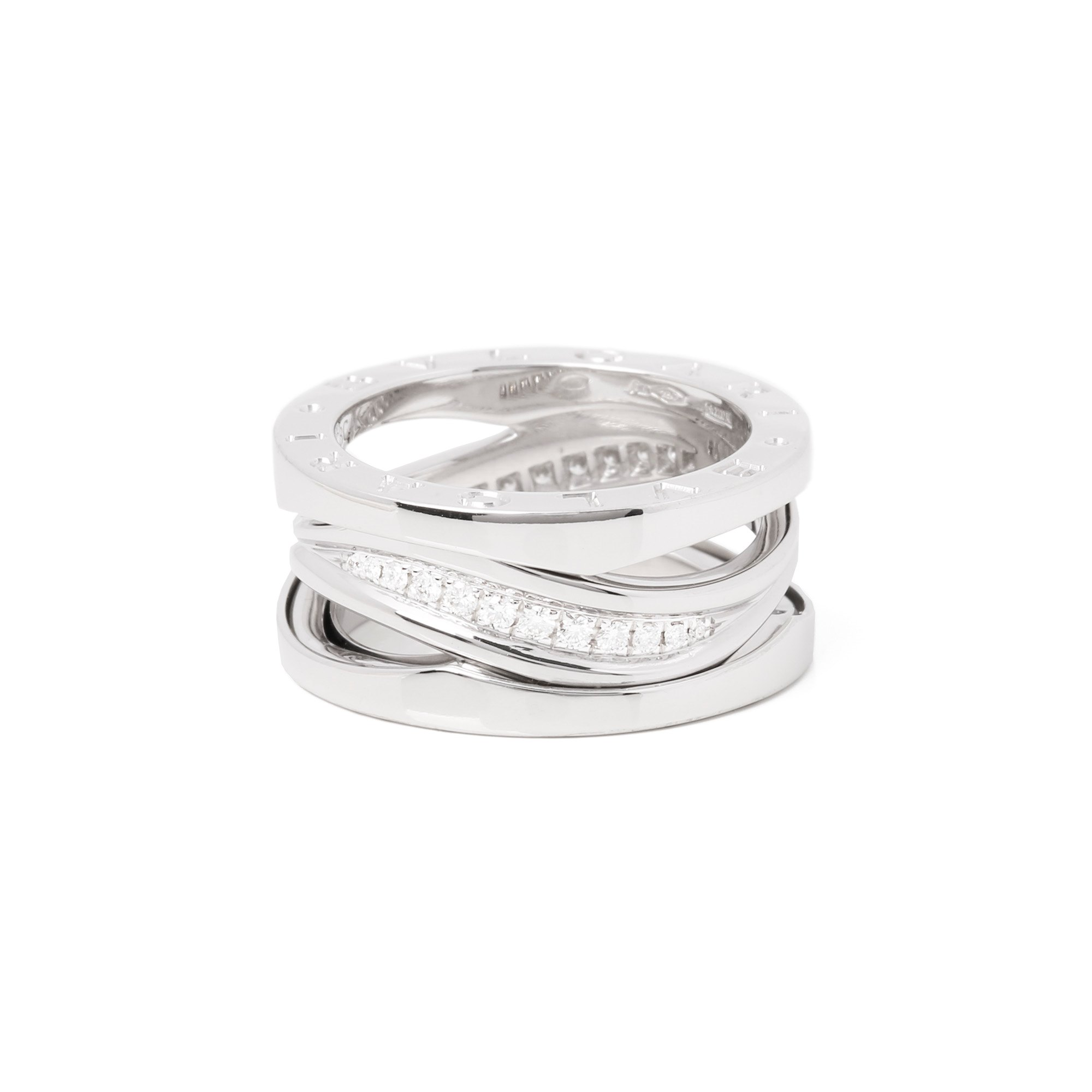 Bulgari B Zero 1 Legend 18ct White Gold Diamond Ring