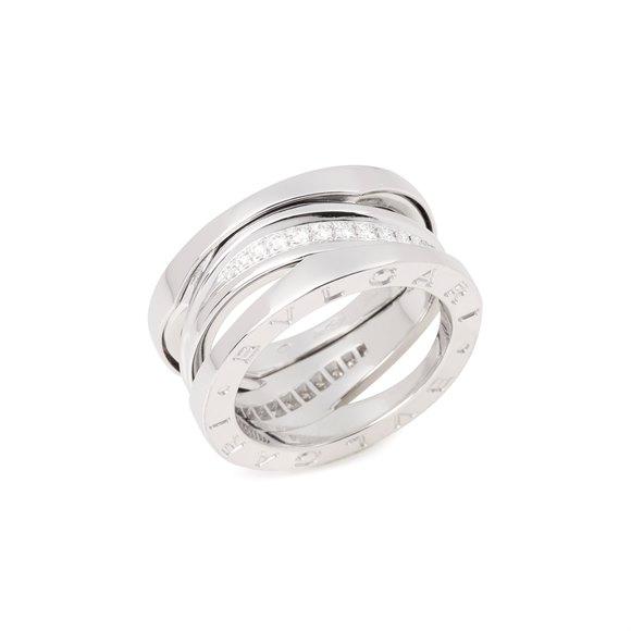 Bulgari B Zero 1 Legend 18ct White Gold Diamond Ring