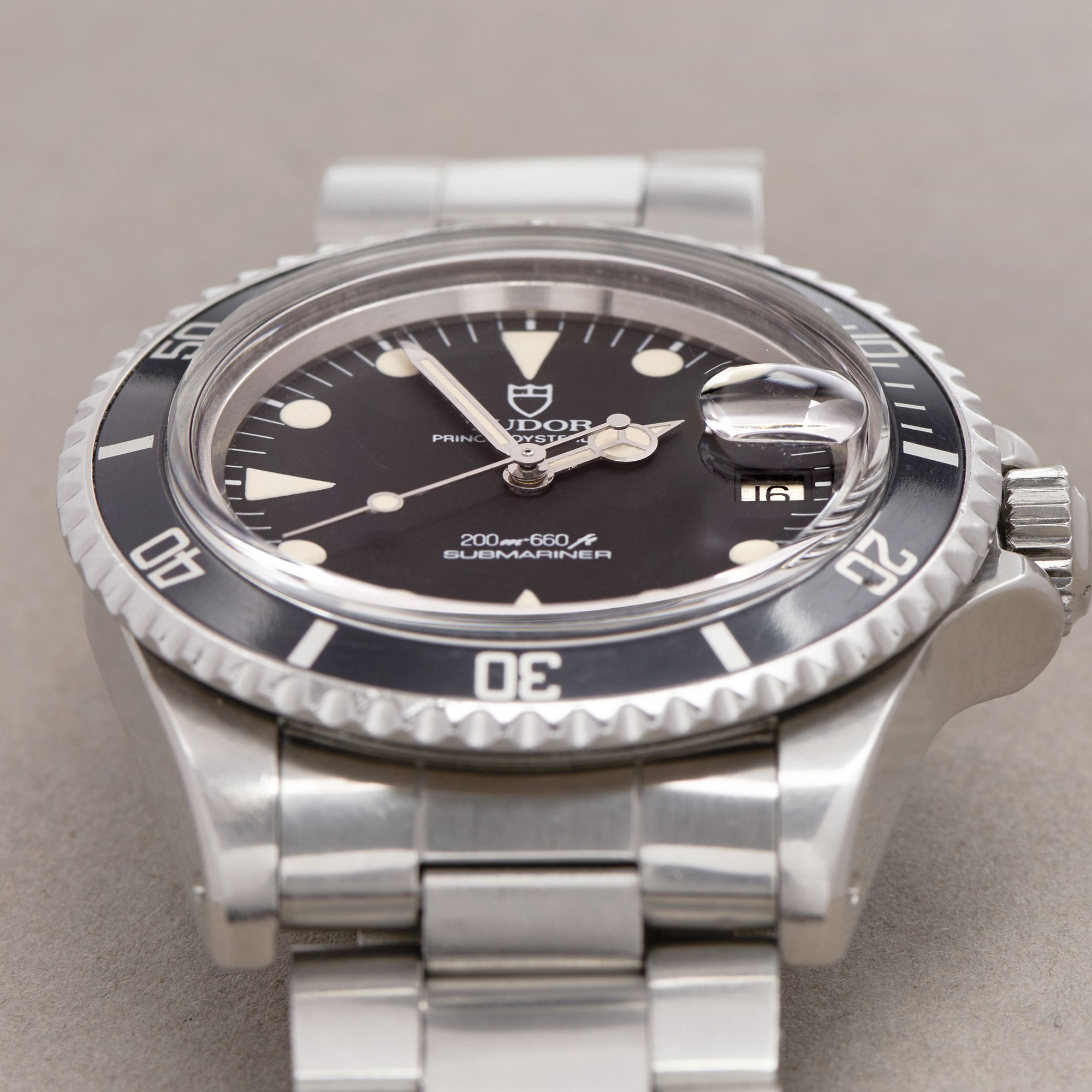 Tudor Submariner Date Meters First Roestvrij Staal 76100