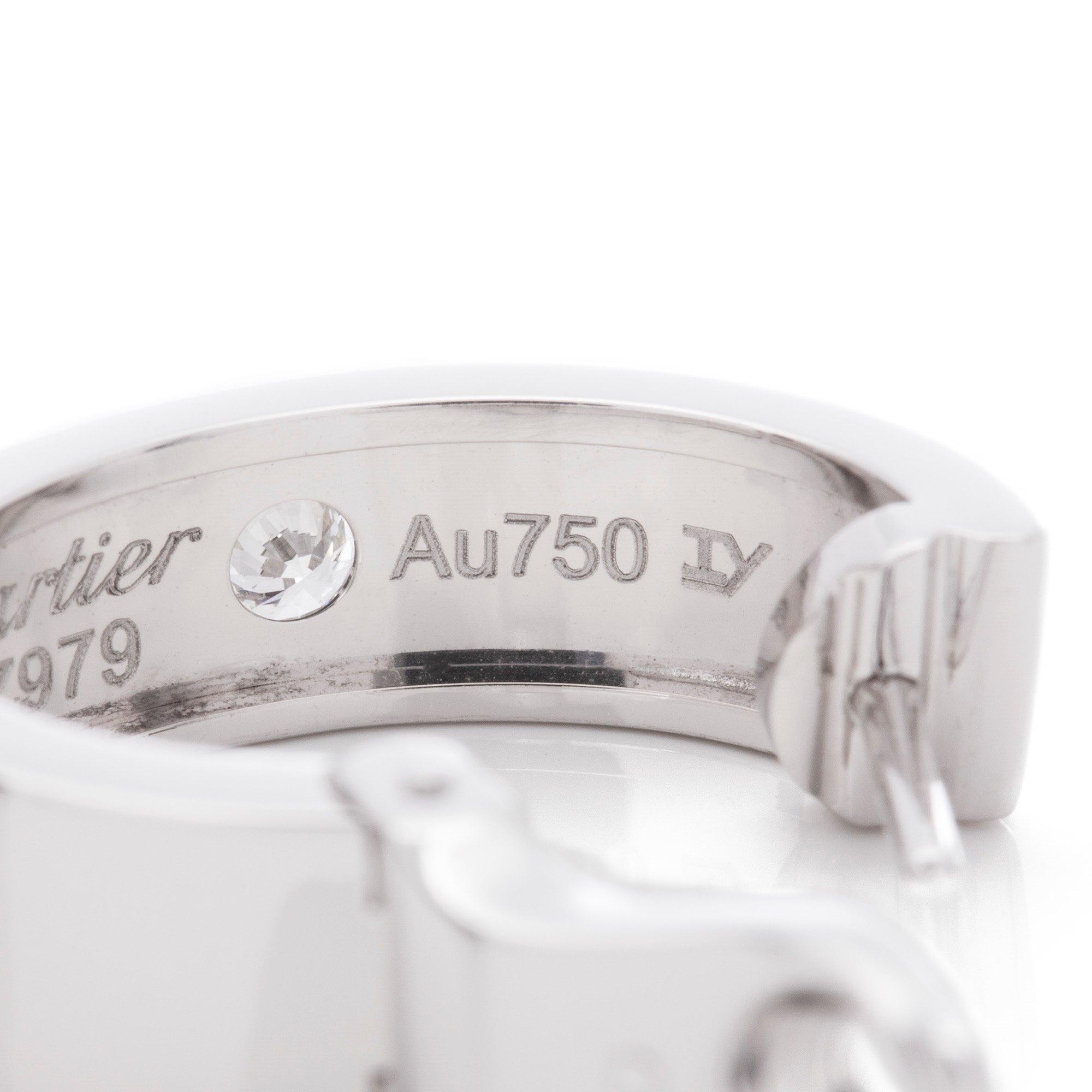 Cartier Love Earrings 2 Diamonds