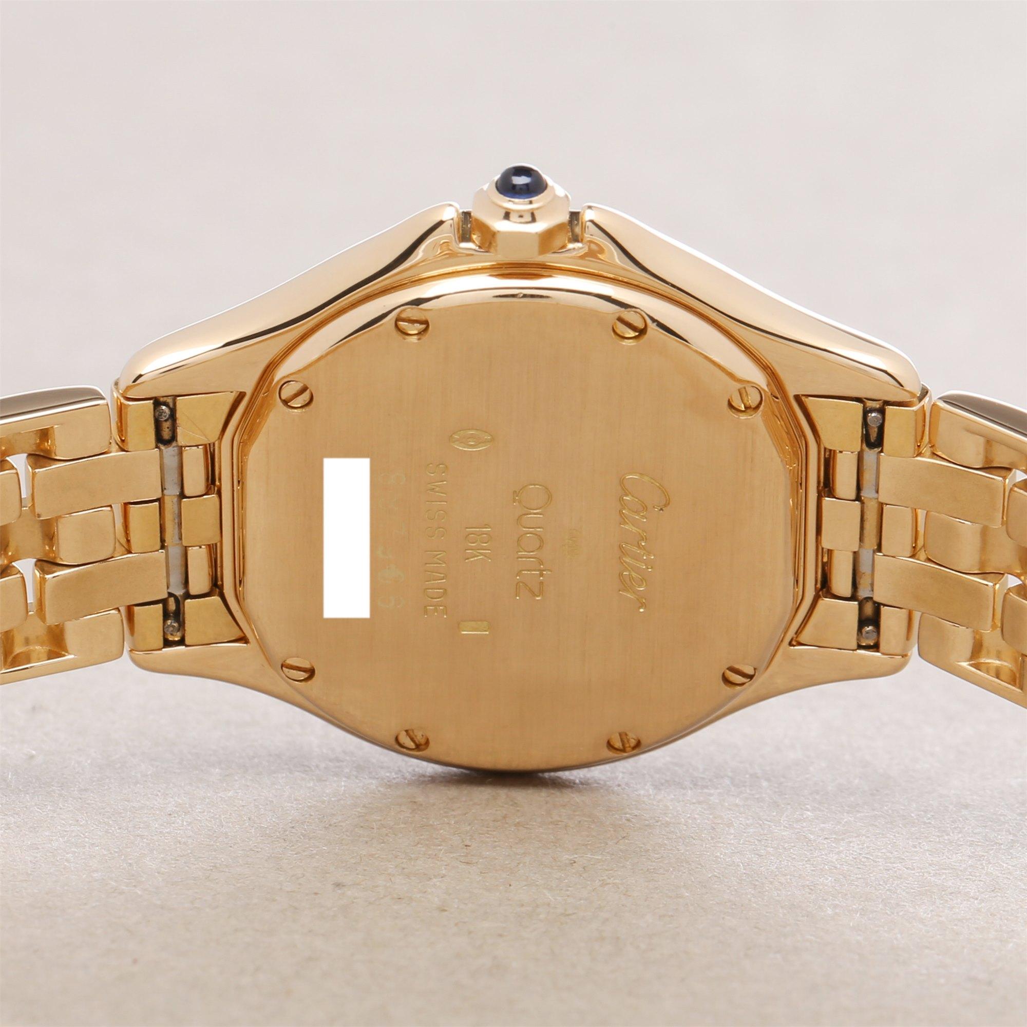 Cartier Panthere Cougar 18K Yellow Gold 887904