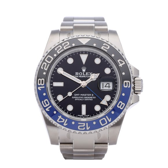 Rolex GMT-Master II Stickered NOS Stainless Steel - 116710BLNR