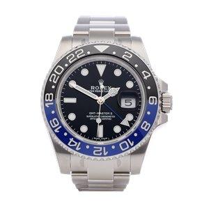 Rolex GMT-Master II Stickered NOS Stainless Steel - 116710BLNR