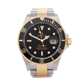 Rolex Submariner 18K Yellow Gold & Stainless Steel - 16613LN