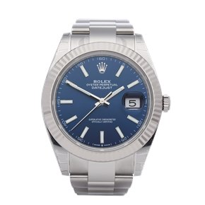 "Rolex Datejust ""Stickered Unworn"" Stainless Steel - 126334"