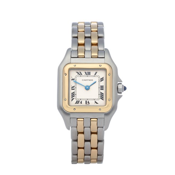 Cartier Panthère 18K Yellow Gold & Stainless Steel - 166921