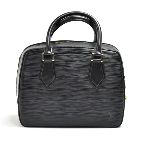 Louis Vuitton Black Epi Leather Vintage Sablon