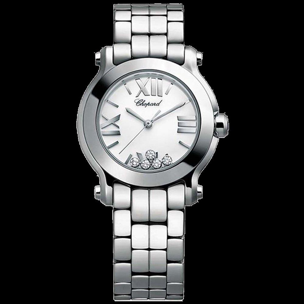 Chopard Happy Sport Diamonds Stainless Steel 278509-3002