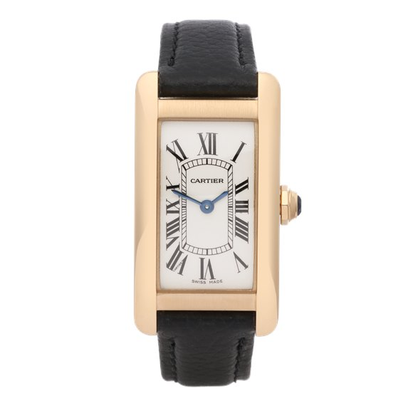 Cartier Tank Americaine 18K Yellow Gold - 2482