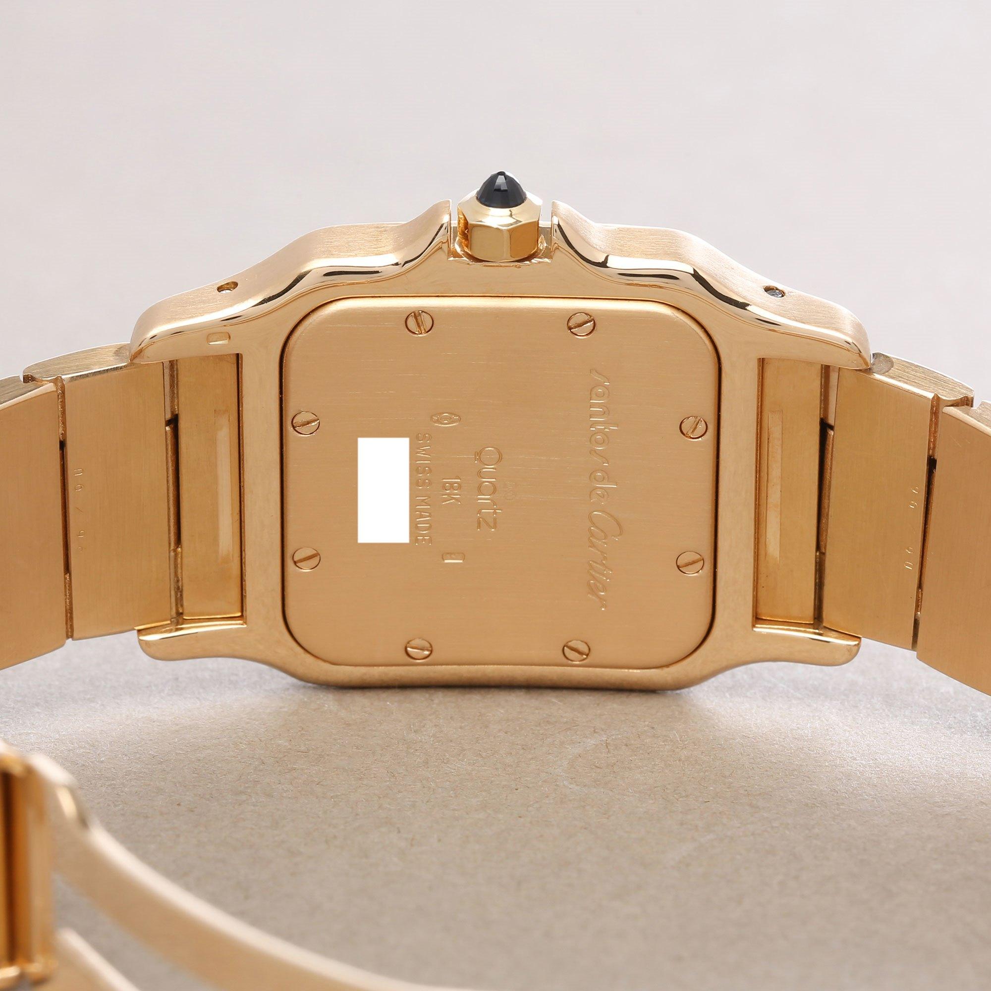 Cartier Santos Galbee 18K Yellow Gold 887901