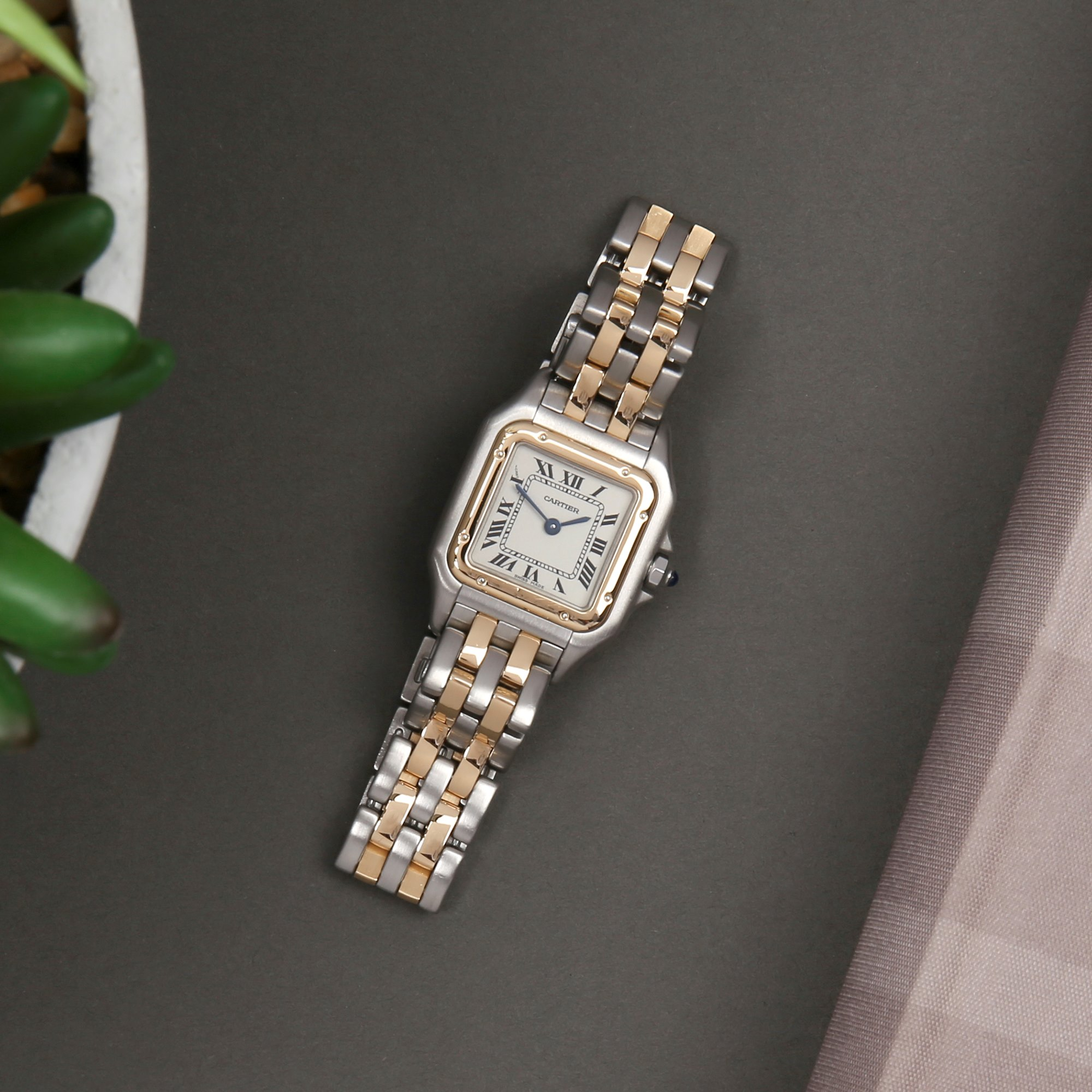 Cartier Panthère 18K Yellow Gold & Stainless Steel 84083241 or 1120