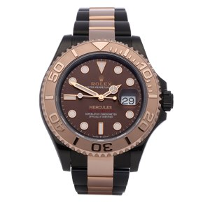 Rolex Yacht-Master 18K Dlc Stainless Steel & Rose Gold - 126621
